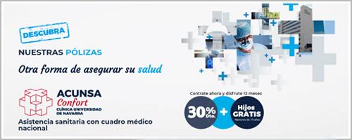 Seguros ACUNSA, clínica Universitaria de Navarra