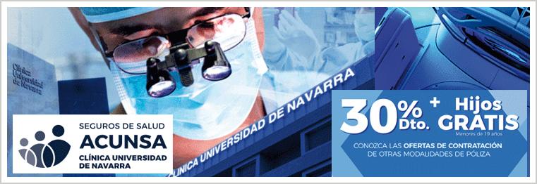 Seguros ACUNSA. Clínica Universidad de Navarra